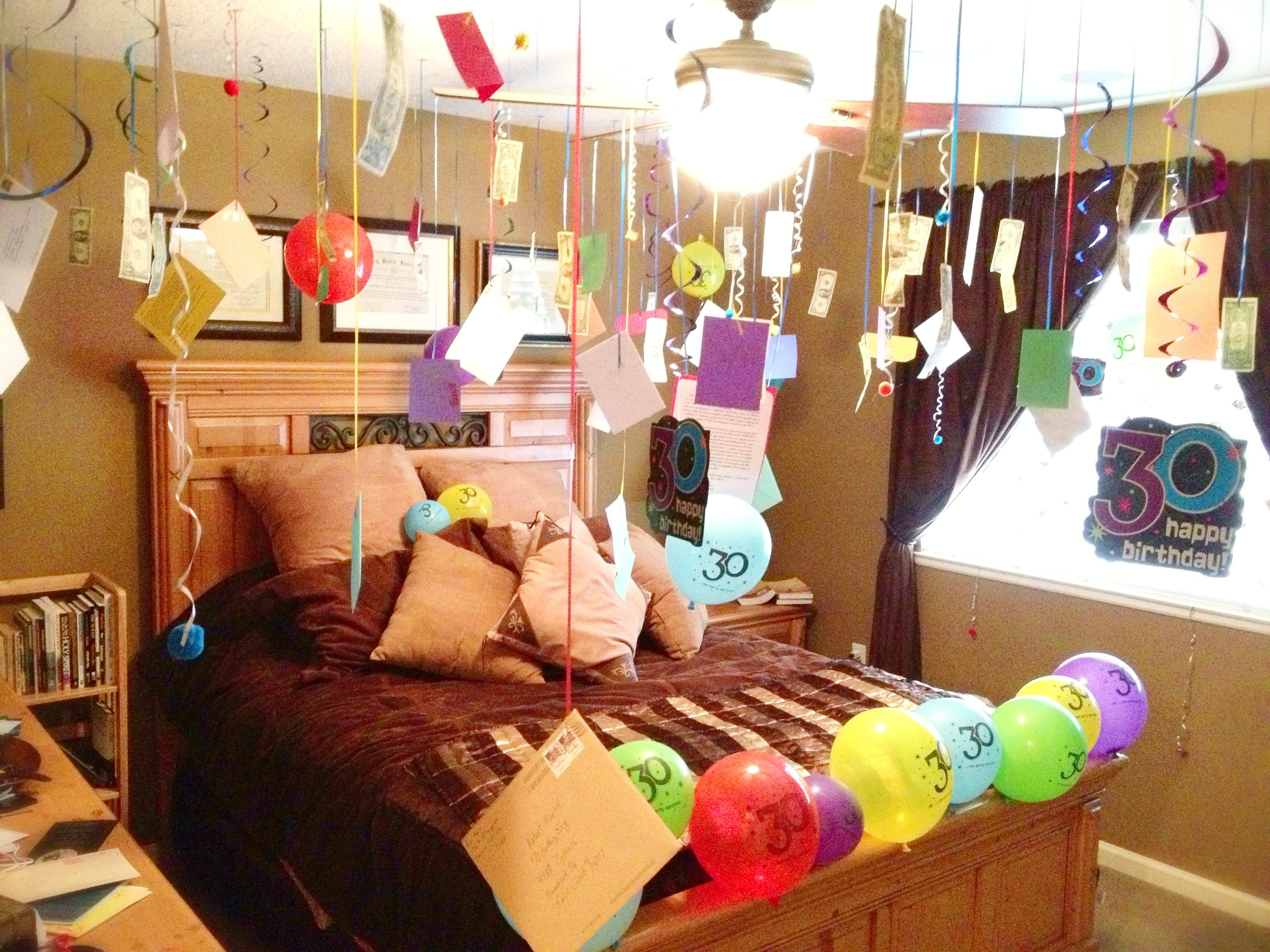 Happy Birthday Room Decoration Suprise Surprise