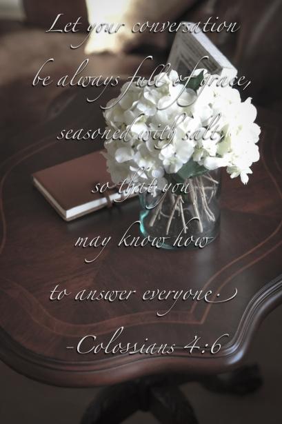 Colossians 4:6