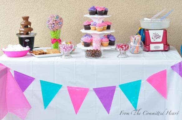 Candyland Buffet