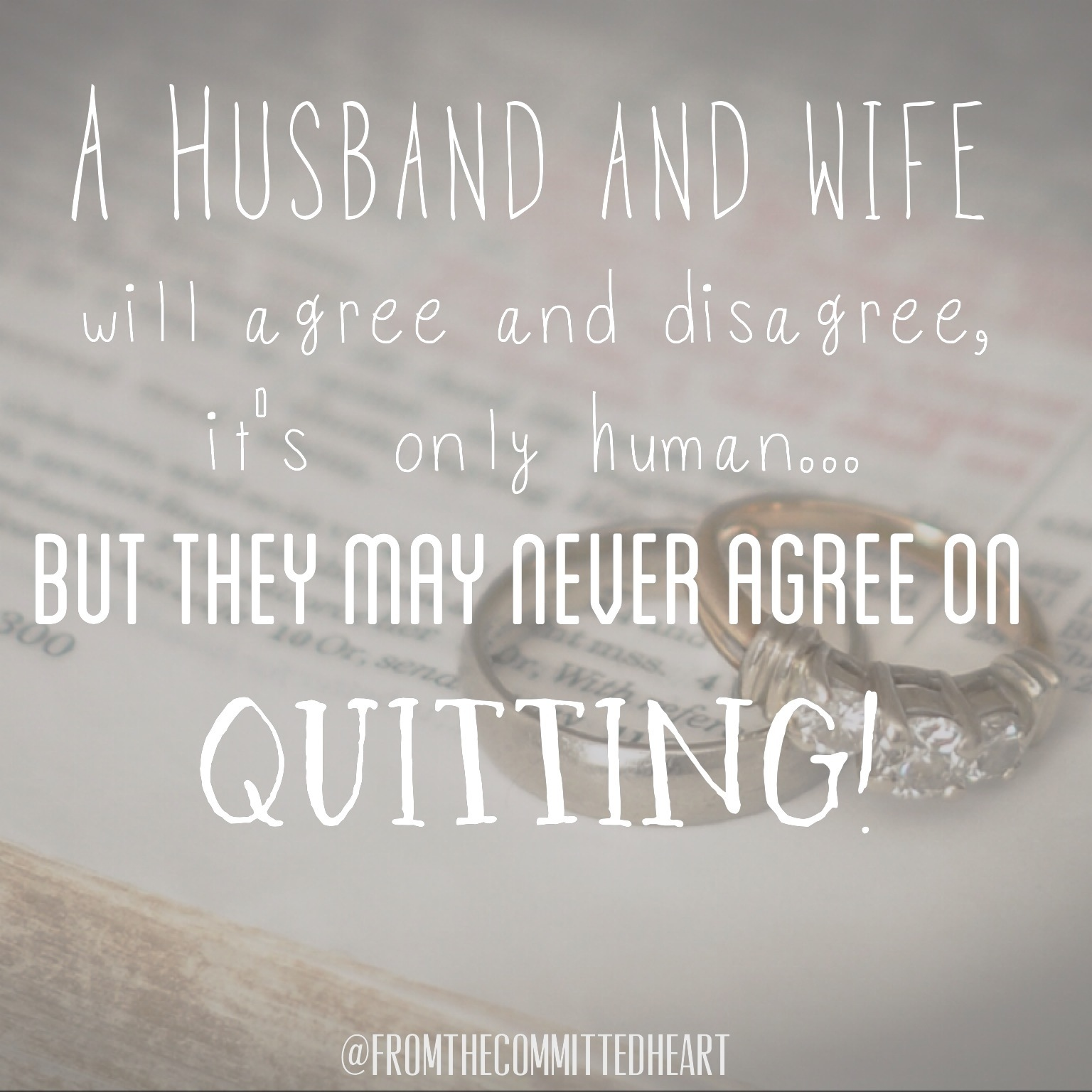 quitting is not an option Persevere or quit: there is no other option recognize the  sure, you may not  succeed the first time, but keep fighting sure, you may not be.