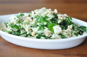 Orzo and Spinach Pasta